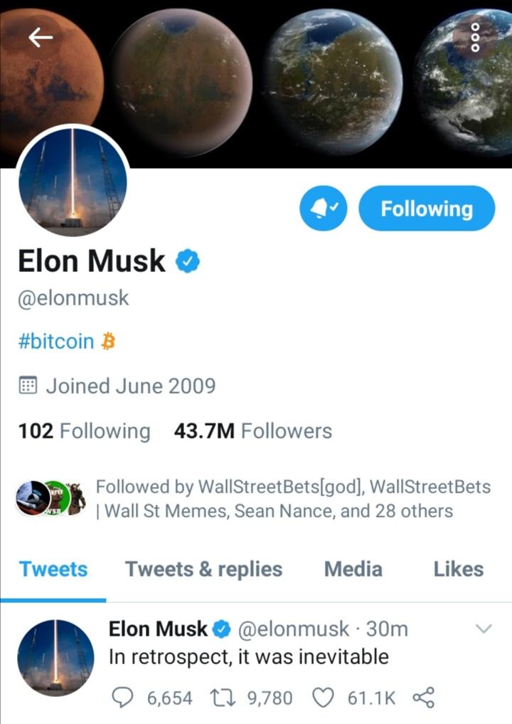 ایلان ماسک(ثروتمندترین فرد جهان) :بیت کوین