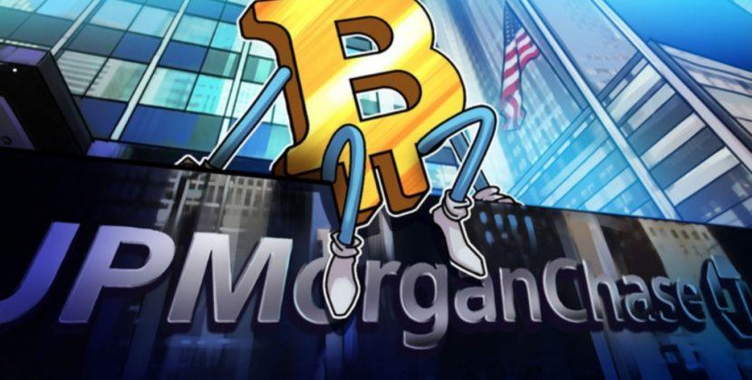 توصیه جی پی مورگان به مشتریانش برای خرید ارز دیجیتال
