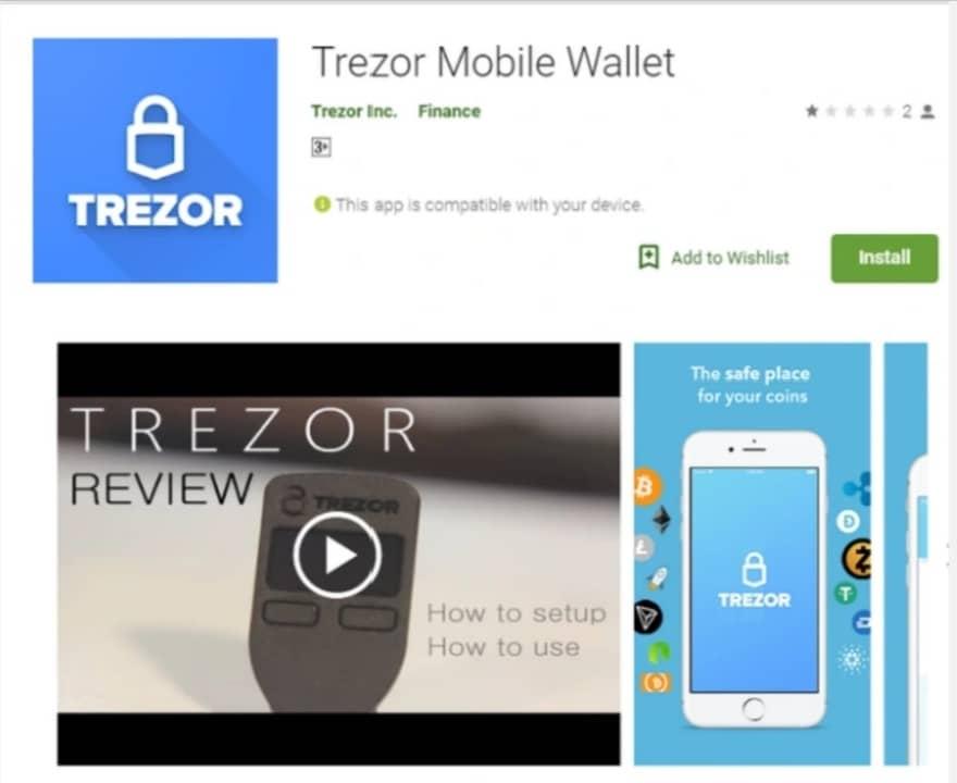 یک میلیون دلار ضرر بخاطر نصب کیف پول جعلی trozer