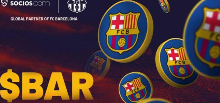 توکن هواداری بارسلونا